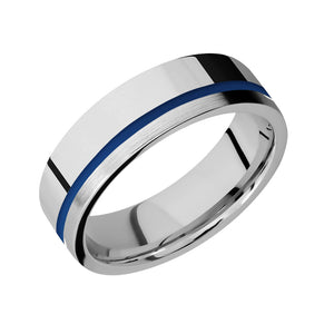 Thin Blue Line, Thin Red Line Ring
