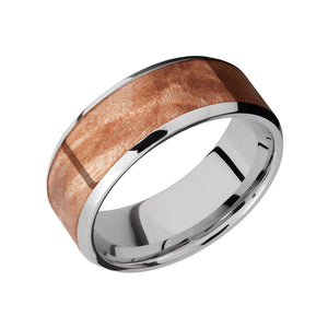Maple Burl Inlay Men's Band