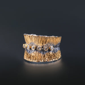 "Margisa ""Canyon"" Multi-Diamond Ring"