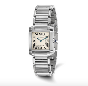 Certified Pre-Owned Cartier Midsize Tank Francaise Watch - Talisman Collection Fine Jewelers