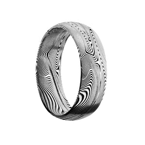 Classic Damascus Men's Band - Talisman Collection Fine Jewelers