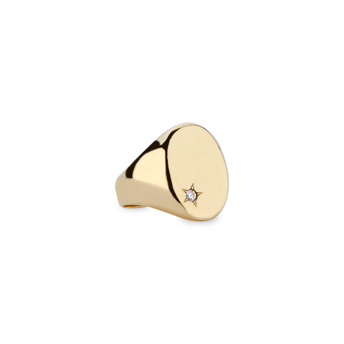 Classic Star Signet Ring by DRU. - Talisman Collection Fine Jewelers