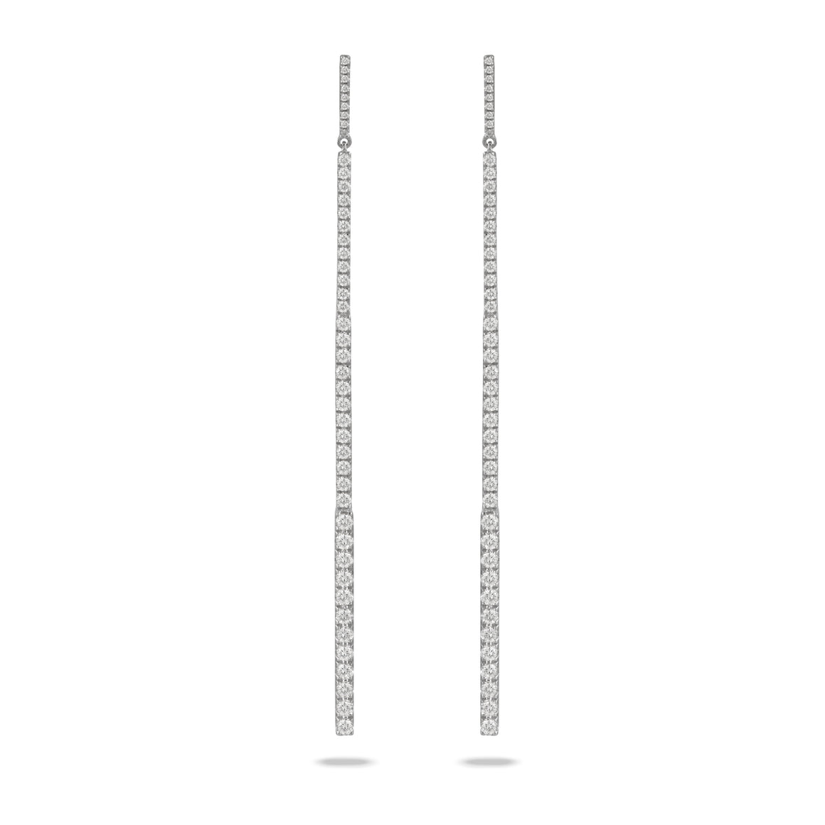 Diamond Stiletto Drop Earrings by Doves - Talisman Collection Fine Jewelers