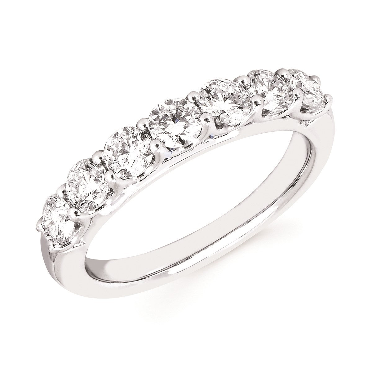 Diamond Lab Anniversary Band, 1.00 Total Carat Weight