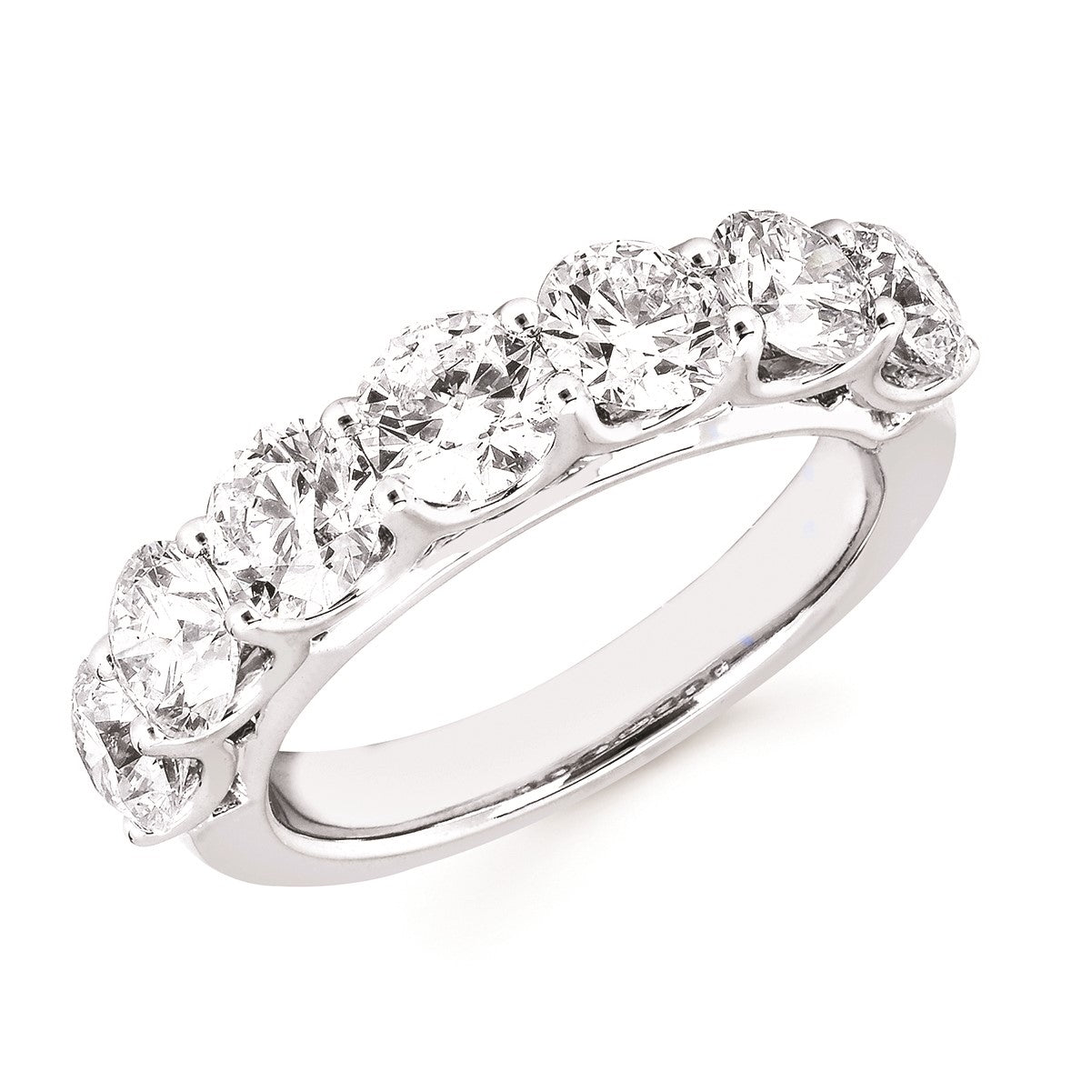 Diamond Lab Anniversary Band, 3.00 Total Carat Weight