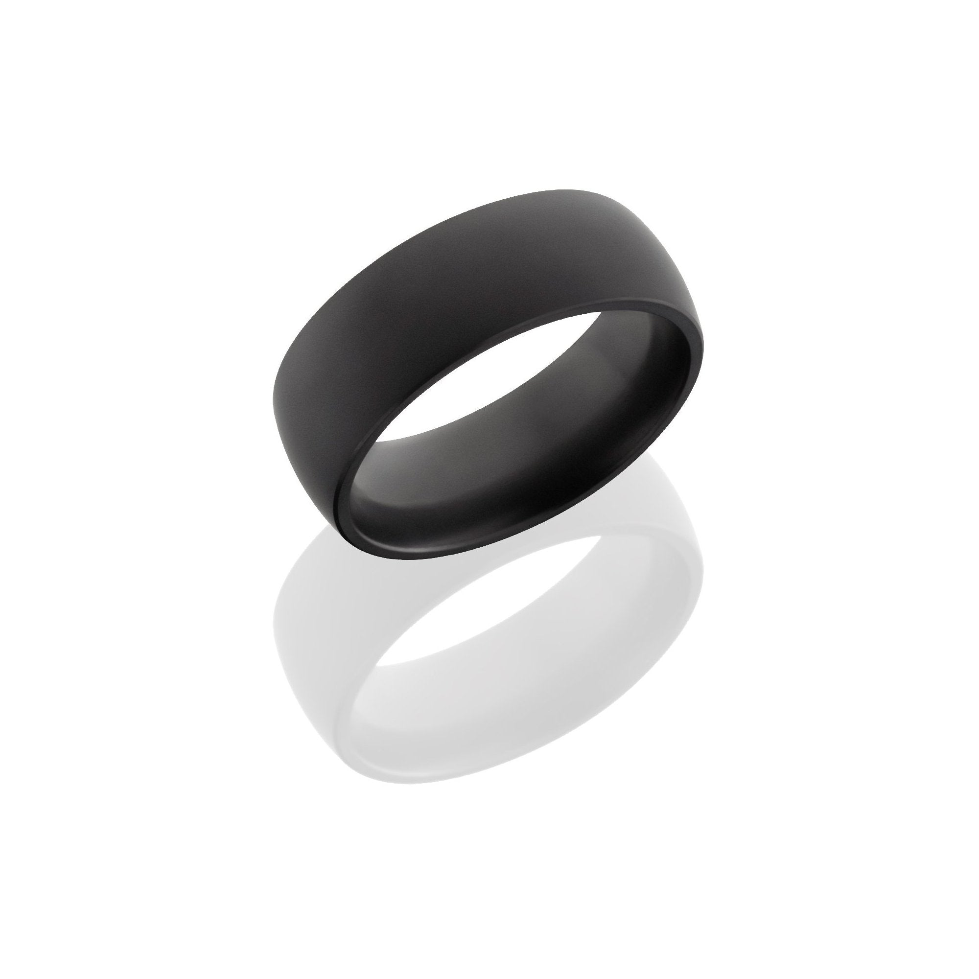 Nyx Black Diamond Band with Matte Finish - Talisman Collection Fine Jewelers