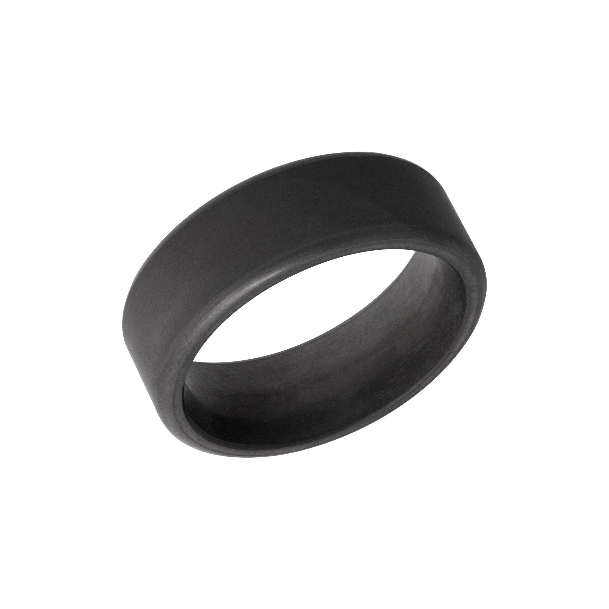 Kratos Black Diamond Band with Matte Finish - Talisman Collection Fine Jewelers