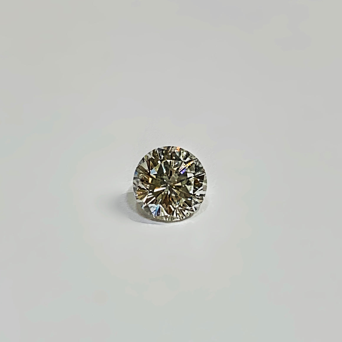 2.01 Carat Round Brilliant, F Color Clarity Enhanced Diamond - Talisman Collection Fine Jewelers
