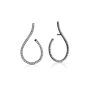 Diamond Mega Swirl Earrings by Graziela - Talisman Collection Fine Jewelers