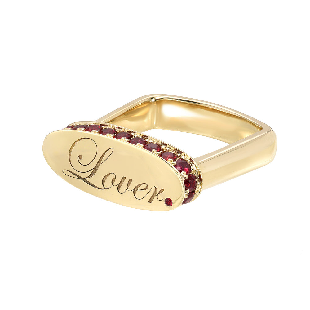 Lover Signet Ring by DRU. - Talisman Collection Fine Jewelers