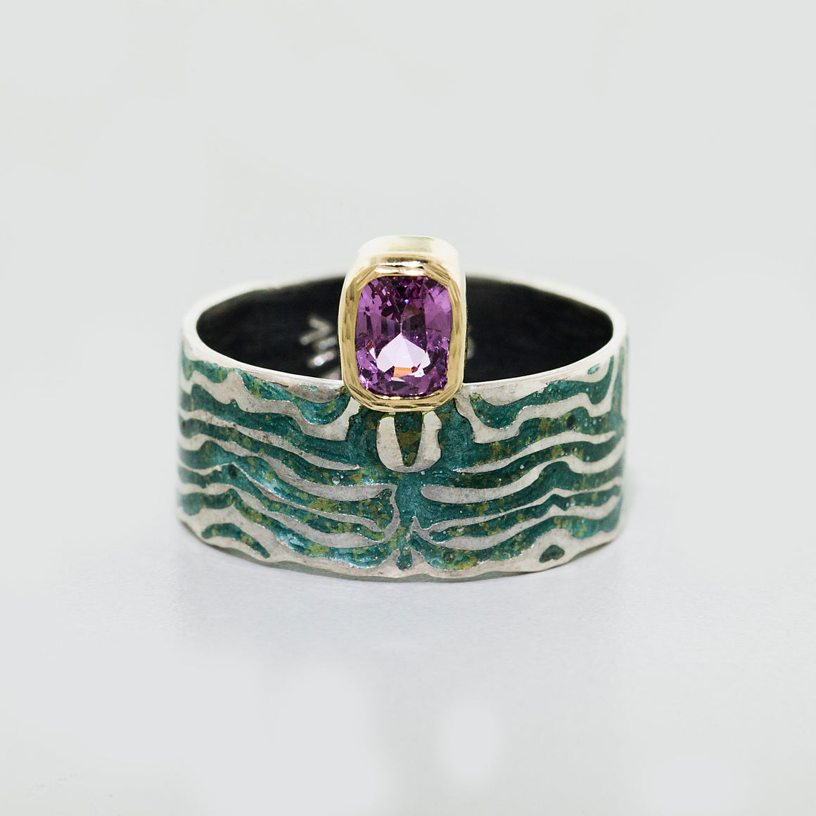 Wildness Lavender Spinel Ring by Margisa - Talisman Collection Fine Jewelers