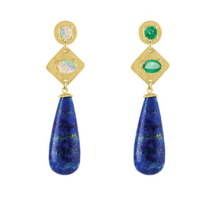 Lapis Drop Earrings by Eden Presley - Talisman Collection Fine Jewelers