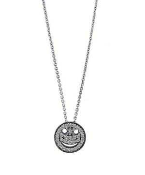 Diamond Smile Necklace by Lisa Nik - Talisman Collection Fine Jewelers