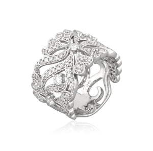 Affinity Diamond Ring by Yael - White Gold - Talisman Collection Fine Jewelers