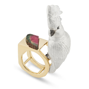 Cockatoo Ring by Manya & Roumen - Talisman Collection Fine Jewelers