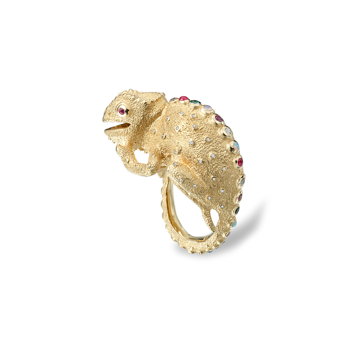 Chameleon Ring by Manya & Roumen - Talisman Collection Fine Jewelers