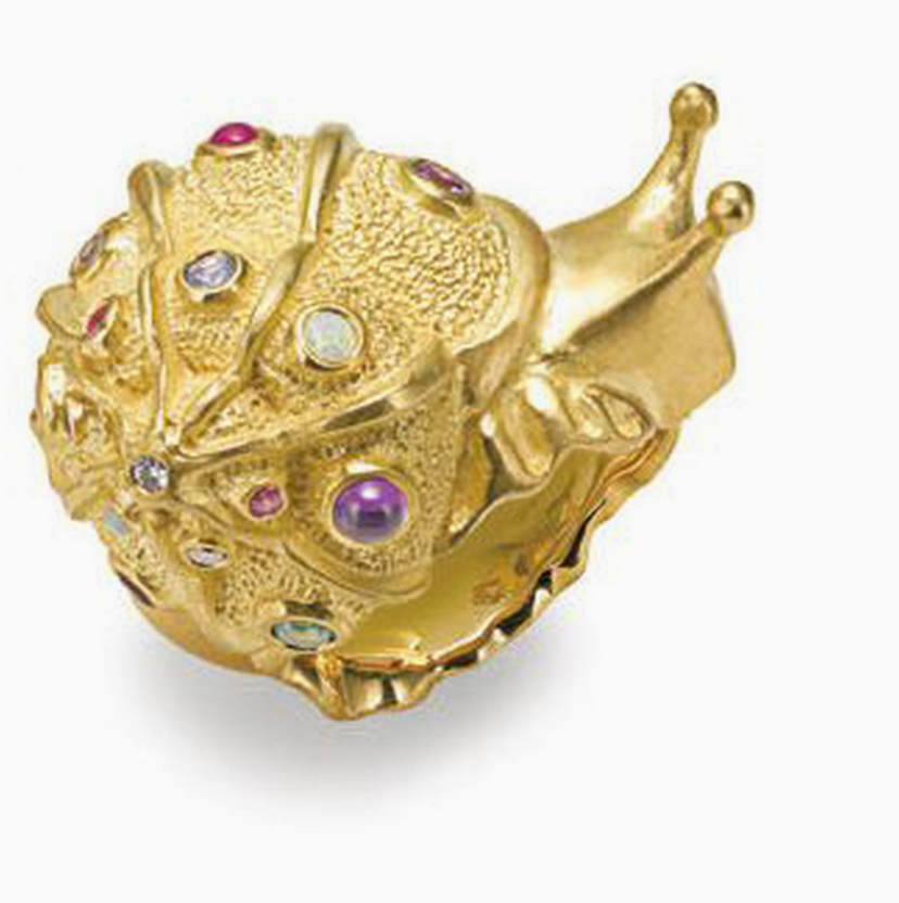 Snail Ring by Manya & Roumen - Talisman Collection Fine Jewelers