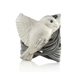 Sparrow Cuff Bracelet by Manya & Roumen - Talisman Collection Fine Jewelers