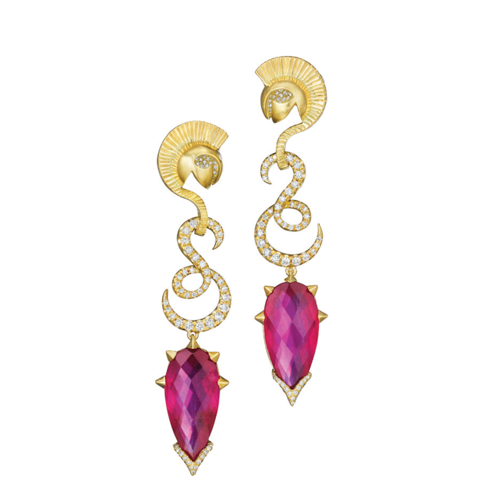 MadStone Mythology Collection Ares Earrings - Talisman Collection