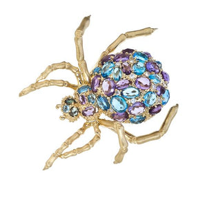 MadStone MadSpider Double Finger Ring - Talisman Collection