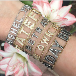 Mantra Bracelet by Eden Presley - Large Font - Talisman Collection Fine Jewelers