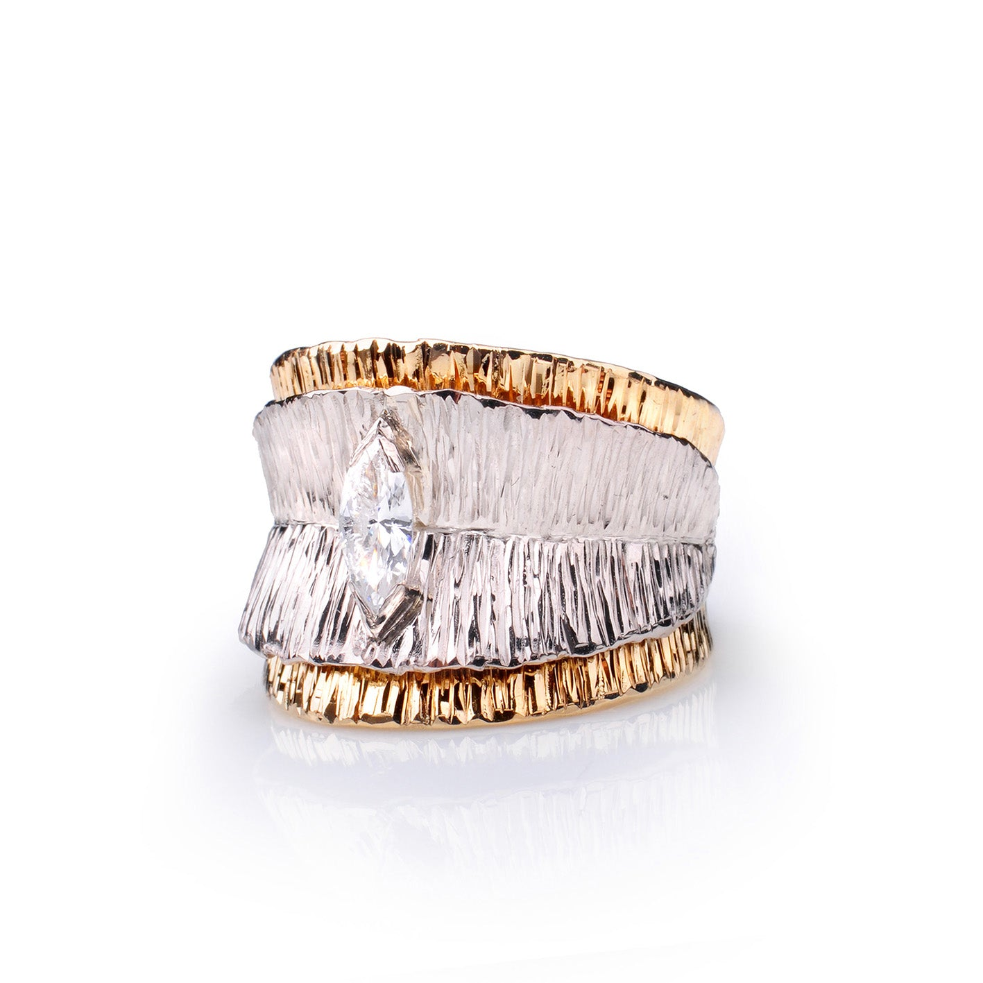Canyon Marquise Diamond Ring by Margisa - Talisman Collection Fine Jewelers