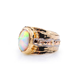 Ancient Sands Ethiopian Opal Ring by Margisa - Talisman Collection Fine Jewelers