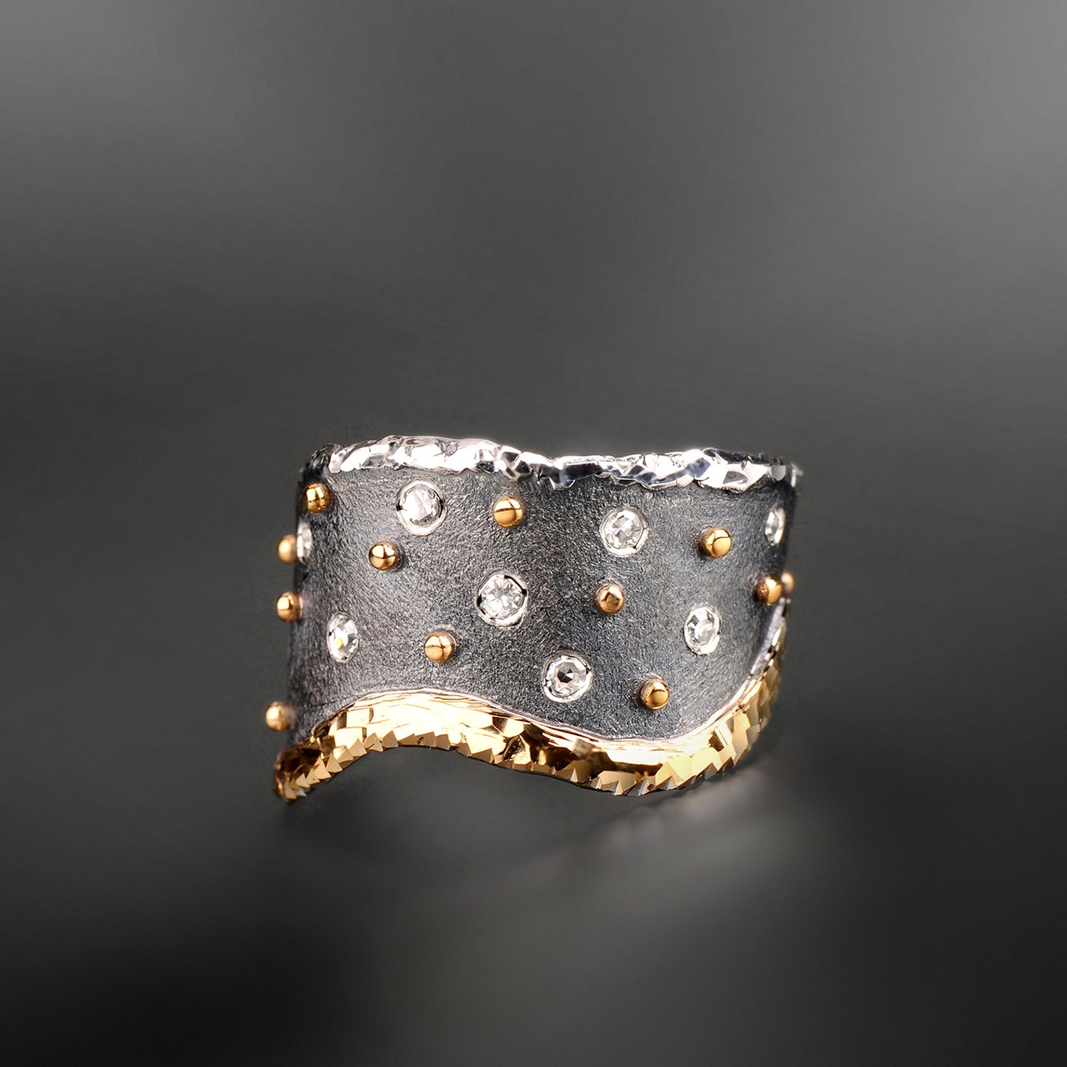 Celestial Shower Diamond Ring by Margisa - Talisman Collection Fine Jewelers