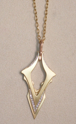 """Victory"" Pendant by Geoff Thomas - Talisman Collection Fine Jewelers"