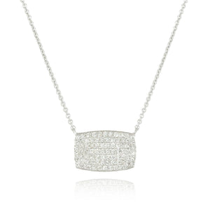 Diamond Pavé Necklace by Doves - Talisman Collection Fine Jewelers