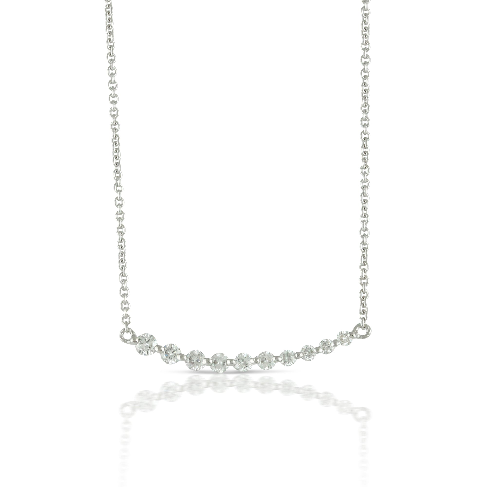Diamond Smile Necklace by Doves - Talisman Collection Fine Jewelers