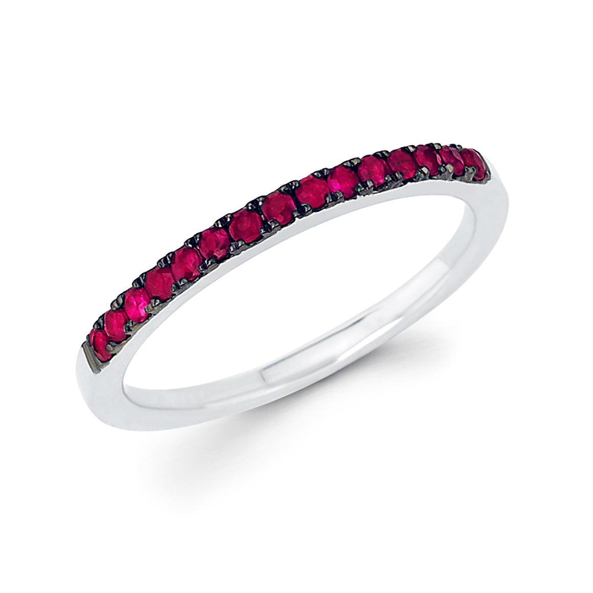 talisman collection fine jewelers 14k gold ruby anniversary birthstone band