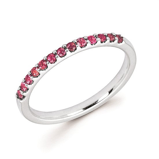 14k Gold and Pink Tourmaline Ring