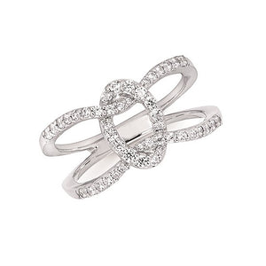 Forever Knot Diamond Ring - Talisman Collection Fine Jewelers