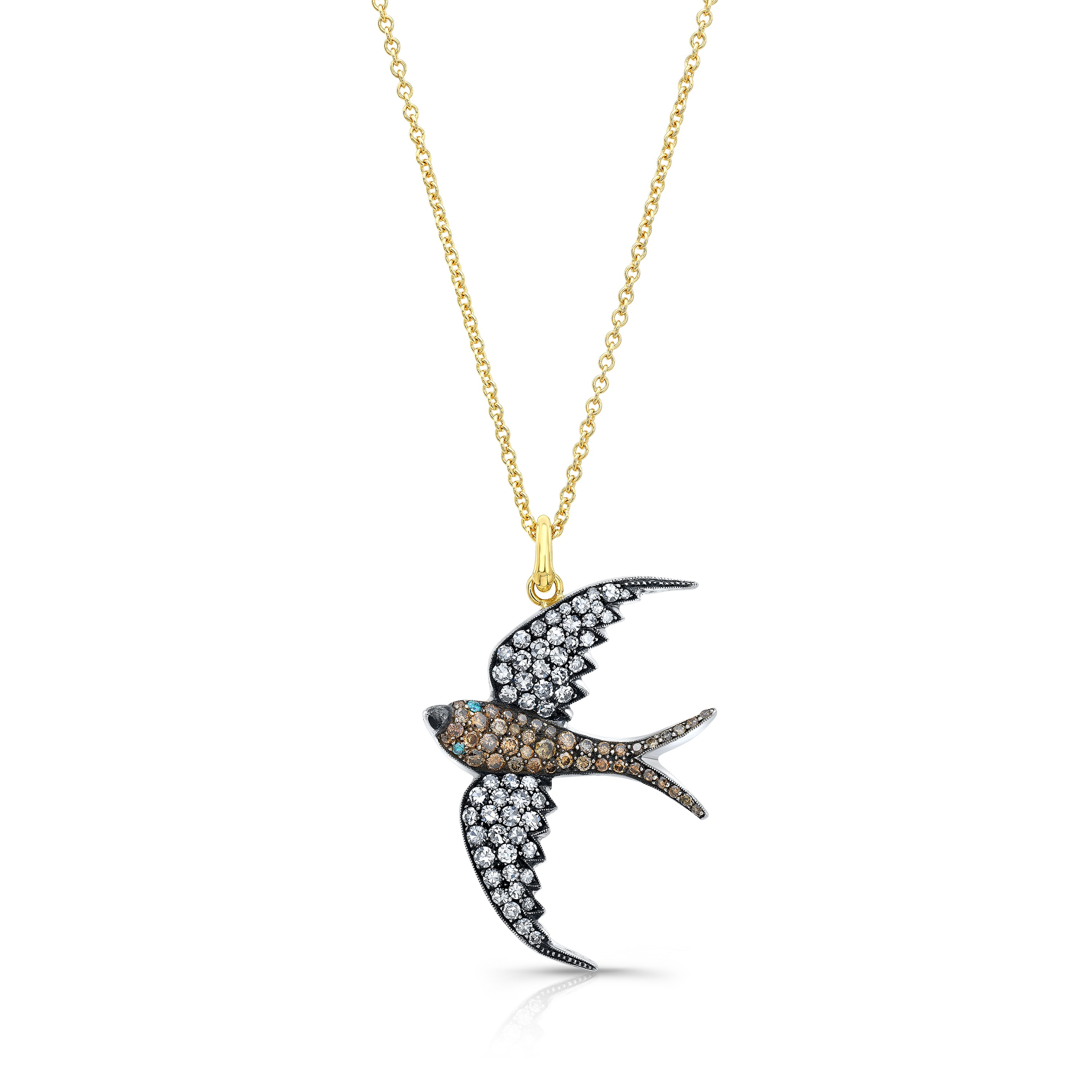 Gold Sparrow Necklace