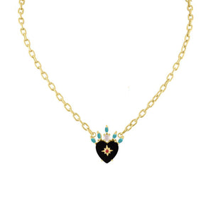 Queen of Hearts Necklace by Eden Presley - Talisman Collection Fine Jewelers