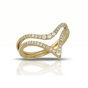 Diamond Virtue Ring by Doves - Talisman Collection Fine Jewelers