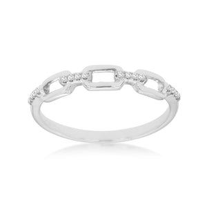 Diamond Link Stack Band