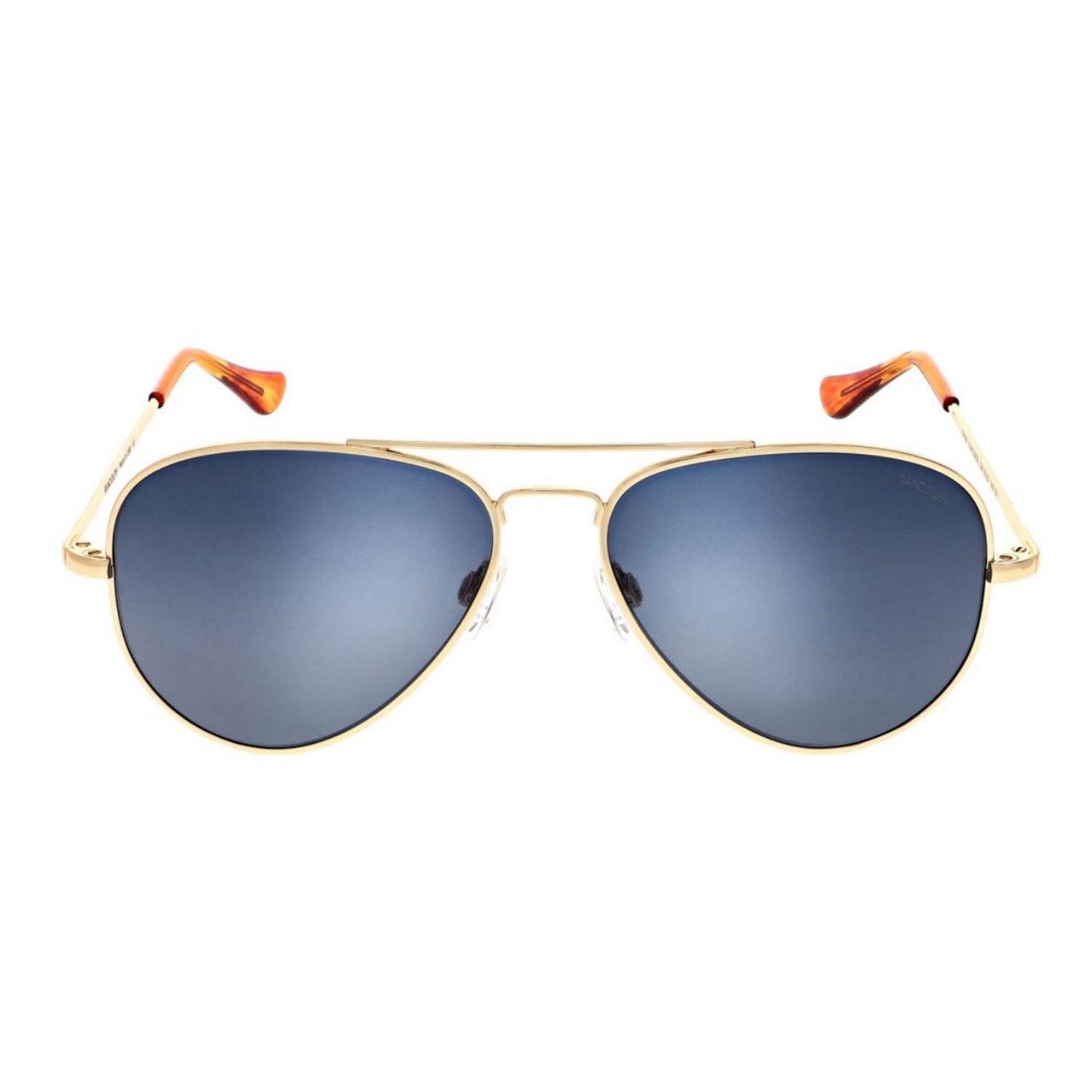 Concorde Aviators, 23k Gold Frames with Slate Lenses by Randolph - Talisman Collection Fine Jewelers