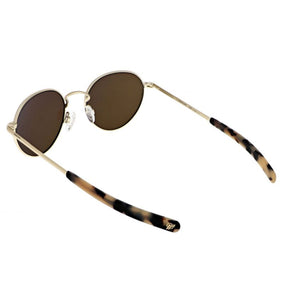 Douglas Sunglasses, 22k Champagne Gold Frames with Autumn Sunset Lenses by Randolph - Talisman Collection Fine Jewelers