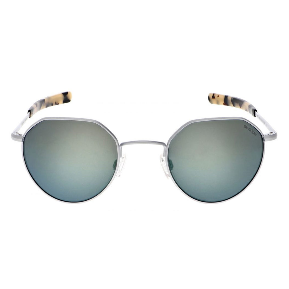 Hamilton Sunglasses, Matte Chrome Frames with Acadian Lenses by Randolph - Talisman Collection Fine Jewelers