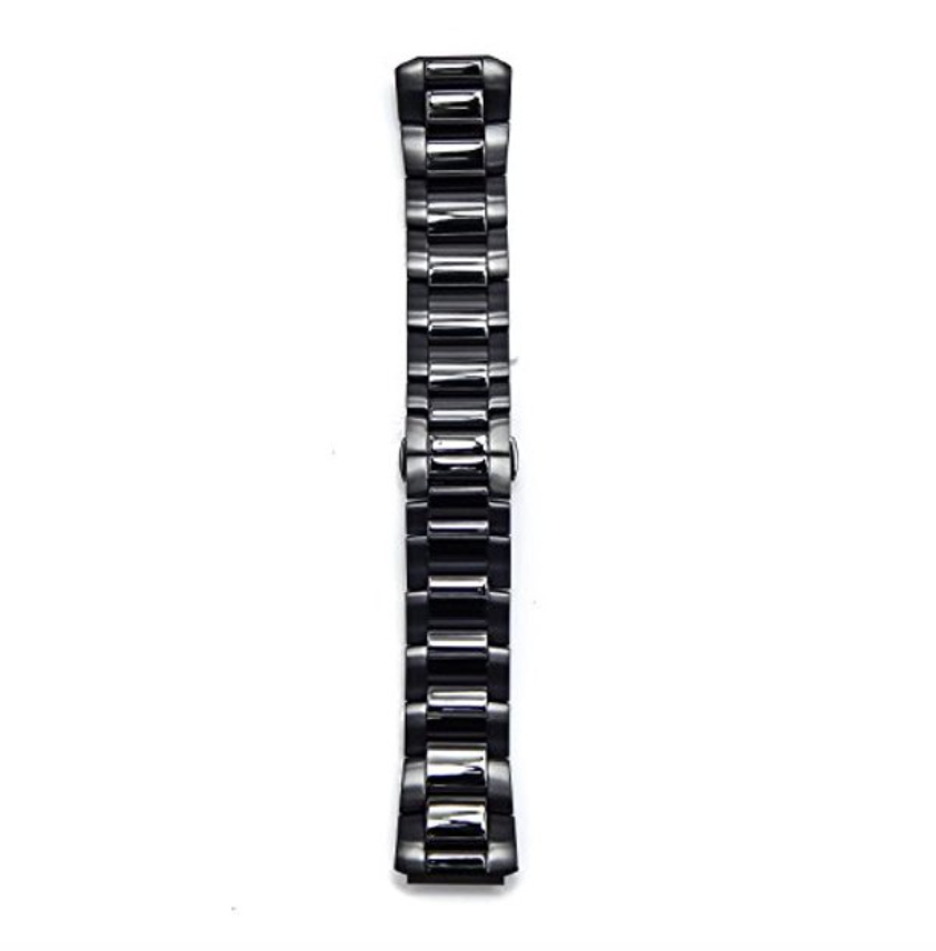 Philip Stein Signature Black Plated Stainless Watch Band, Size 1 (18mm) and Size 3 (22mm) - Talisman Collection Fine Jewelers