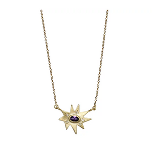 Amethyst Stellina Necklace
