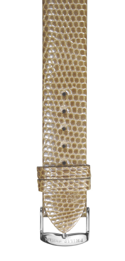 Philip Stein Taupe Lizard Watch Band - Talisman Collection Fine Jewelers