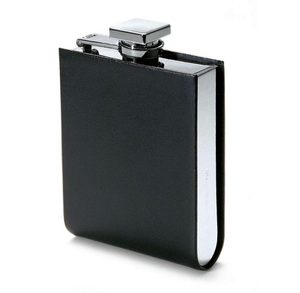 Italian Leather Hip Flask - Talisman Collection