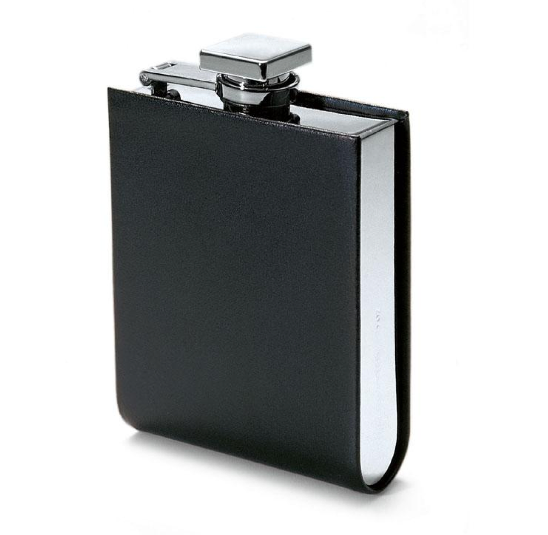 Italian Leather Hip Flask - Talisman Collection Fine Jewelers