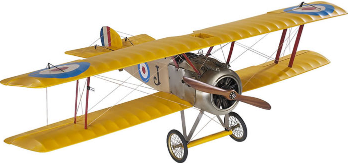 Authentic Models Sopwith Camel Model Plane - Talisman Collection Fine Jewelers