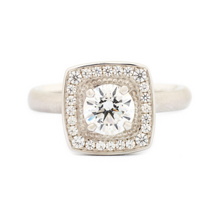 Colette Engagement Ring by Anne Sportun - Talisman Collection Fine Jewelers