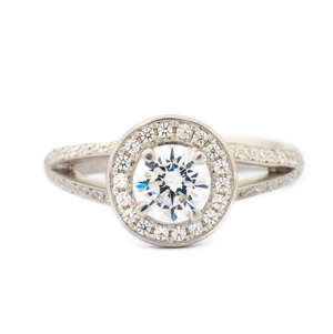 Honour Engagement Ring by Anne Sportun - Talisman Collection Fine Jewelers
