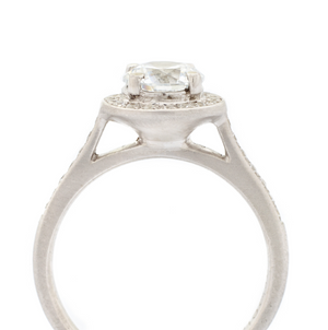 Eiffel Engagement Ring by Anne Sportun - Talisman Collection Fine Jewelers
